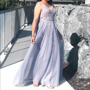 Dresses & Skirts - Women Elegant V Neck Sleeveless Evening